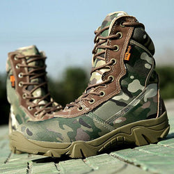 Boots - 2017 Summer Camouflage Mens Combat Boots - Bevsu