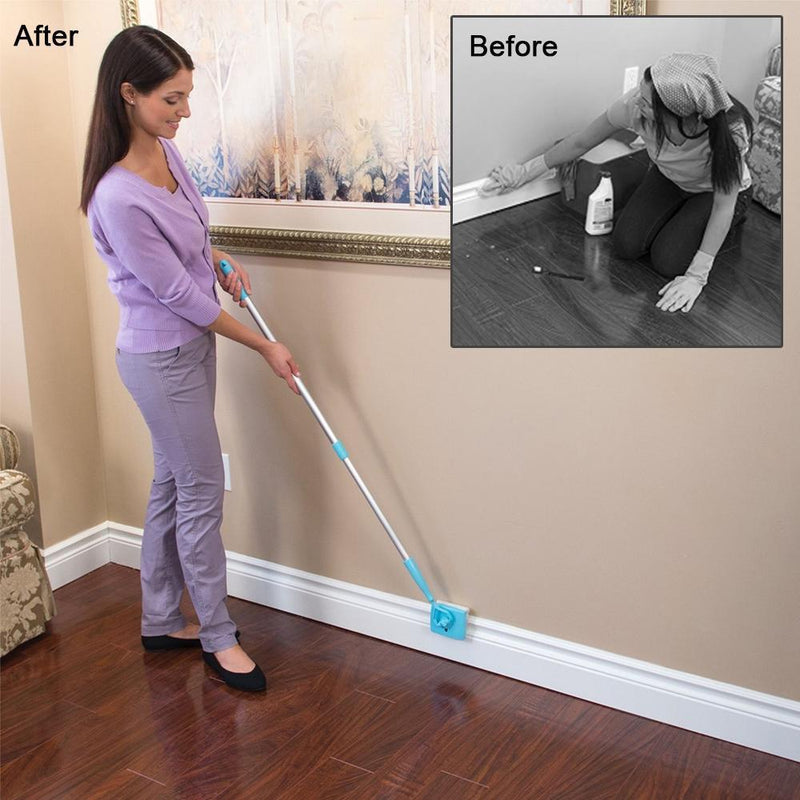 Baseboard Mop For Cleaning Your Baseboards and Moldings - Bevsu