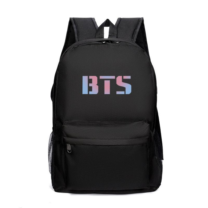 Korean Fashion BTS  Backpack  Travel Bag for Teenager