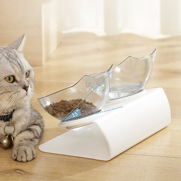Anti-Vomiting Orthopaedic Cat Bowl – Purrfectbowl