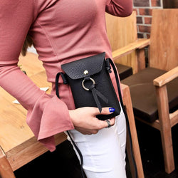 Women Stylish 5.5inch Phone Bag Becket Shoulder Bag Crossbody Bag