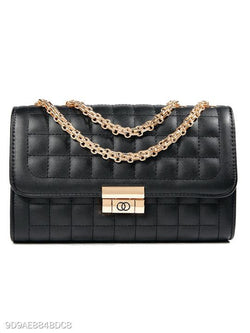 Decrotive Mental Chic Chain Crossbody Bag