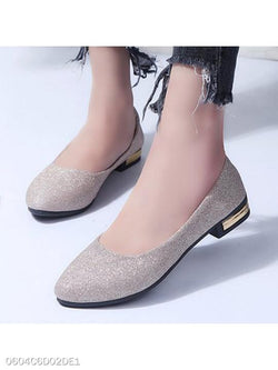 Chunky Low Heeled Round Toe Date Office Pumps