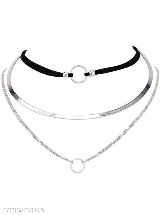 Chic Chocker Three Ways Necklace