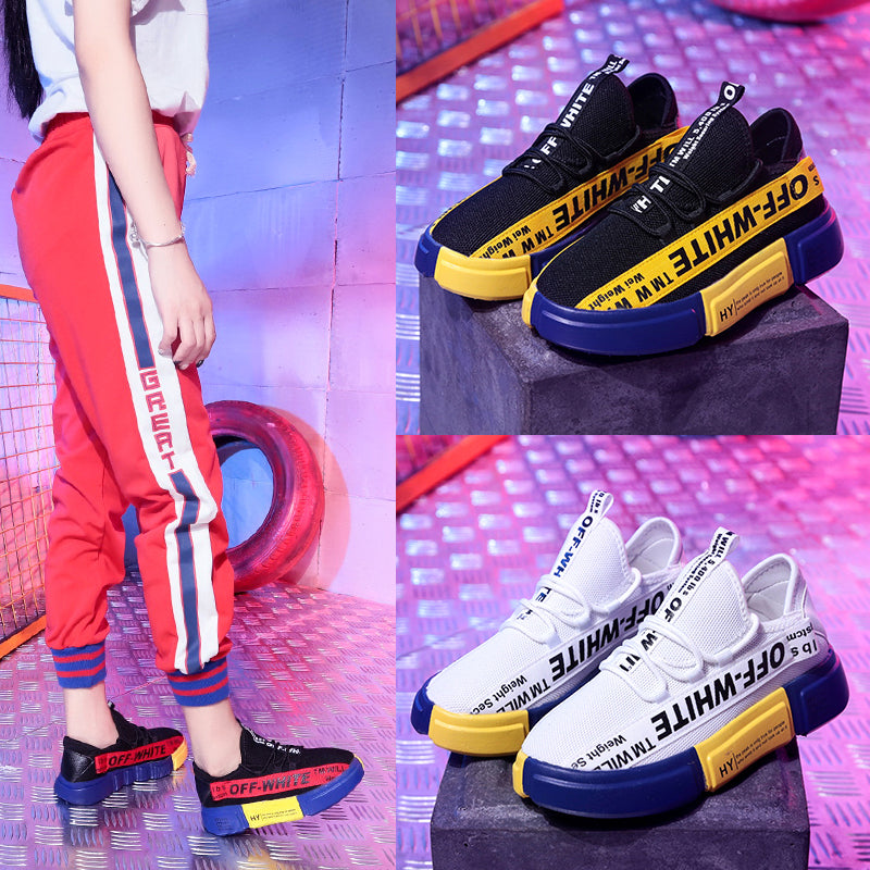 Women's Shoes-Woman Casual Fashion Sneakers Mixed Colors Shoes