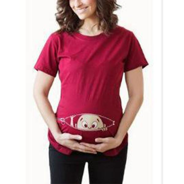 Maternity Funny Kid Top