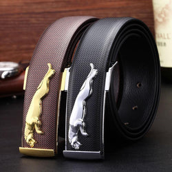 Belt - Designer Casual Men Leather Belt - Bevsu