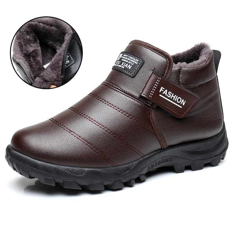 Boots - 2017 New Men Warm Snow Boots - Bevsu