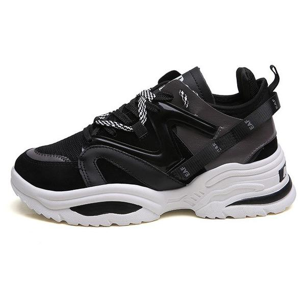 Brand Increasing Cushioning Height Platform Breathable Wave Sports Sneakers