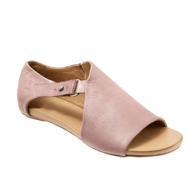 Summer Women's Fashion Open Toe Large Size Roman Shoes