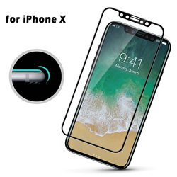 4D Full Curved Tempered Glass Screen Protector For iPhone X - bevsu