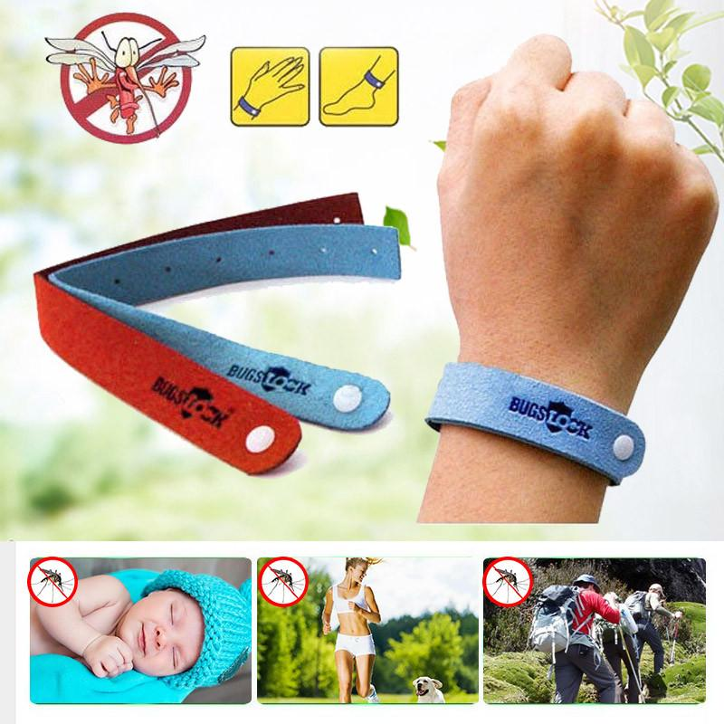 50pcs/Lot new  Mosquito Repellent Bracelet for Baby,Adult - bevsu