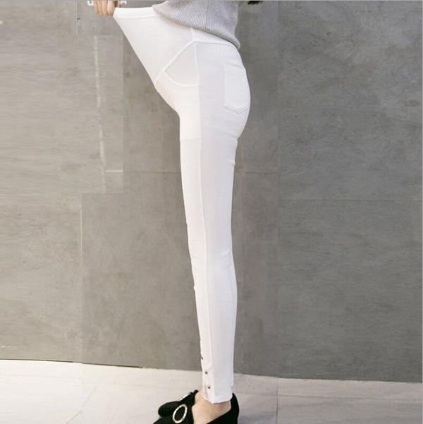 Pregnant Women Trousers Lace Leggings Pants