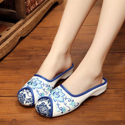 Embroidery Flat & Loafers
