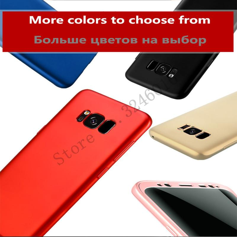 360 Hard PC Soft Back TPU Phone Case For Samsung Note 8 S7 Edge S8 Plus - Old - bevsu