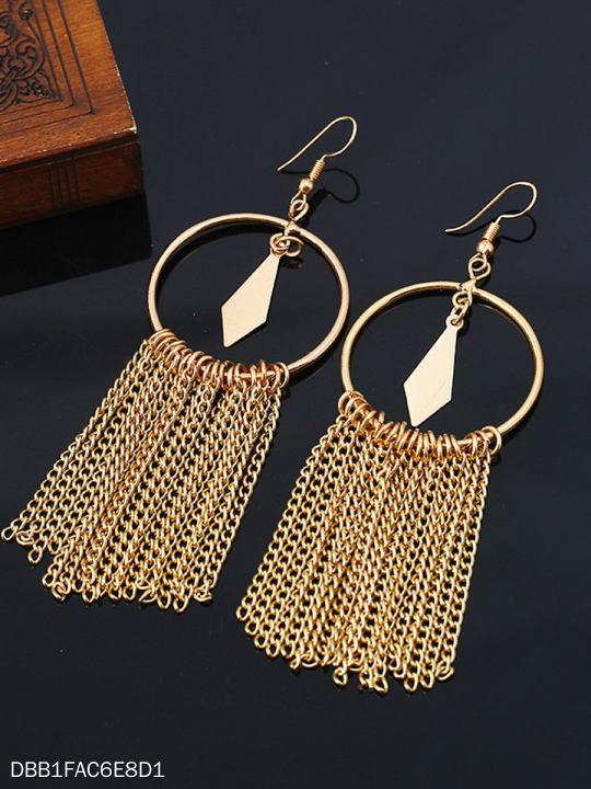 New Style Chic Fringe Long Earrings