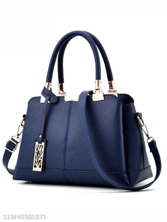 Plain Basic Pu Handbag