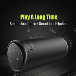 Bluetooth Speaker- Touch Control Bluetooth Speaker HiFi Stereo Portable Subwoofer 4000mAh PowerBank - Bevsu