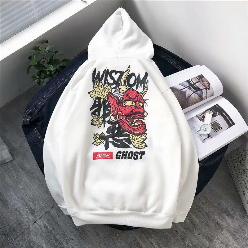 outhCodes Skulls Ghost Devil Hoodies Men Women Couple