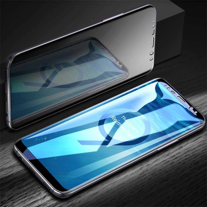 5D Curved Full Cover Tempered Glass Screen Protective Film For Samsung Galaxy S9/S8 Plus/Note 8 - bevsu