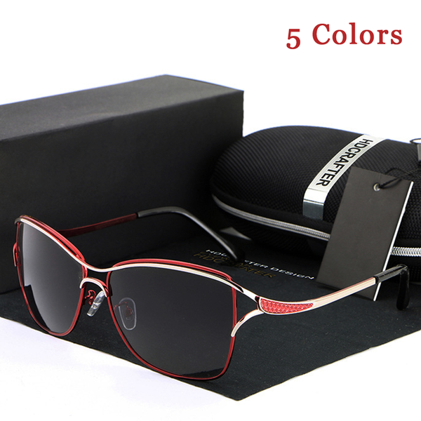 Fashion Metal Frame Polarized Women's Sunglasses(Extra Discount:Buy 2 Get 5% OFF, 3 Get 10% OFF)