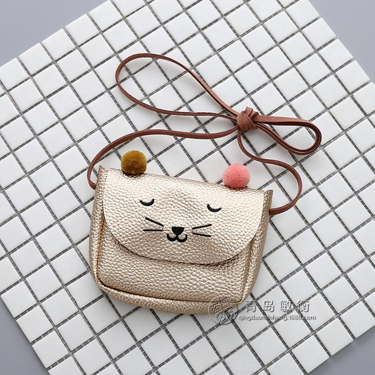 Banabanma Mini Cute Cat Ear Shoulder Bag Kids