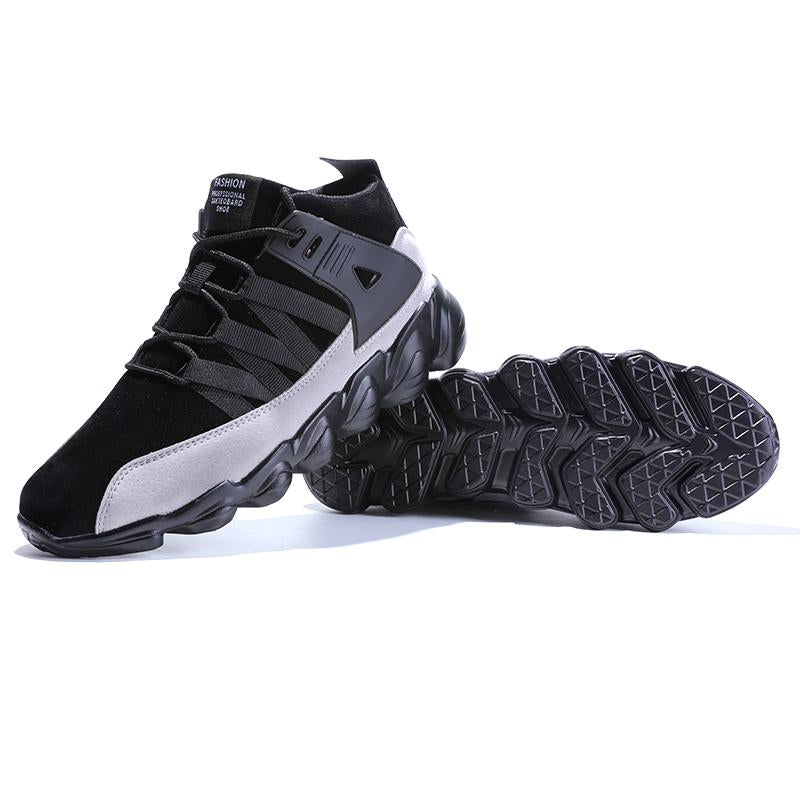 2018 Thick Bottom Men Running Comfort Male Athletic Shoes - bevsu