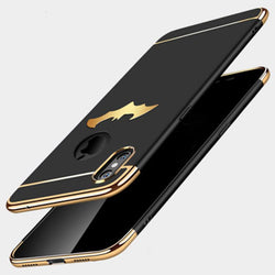 Batman Electroplated Case For iPhone X 8 7 6 6s Plus 5 5s - Bevsu