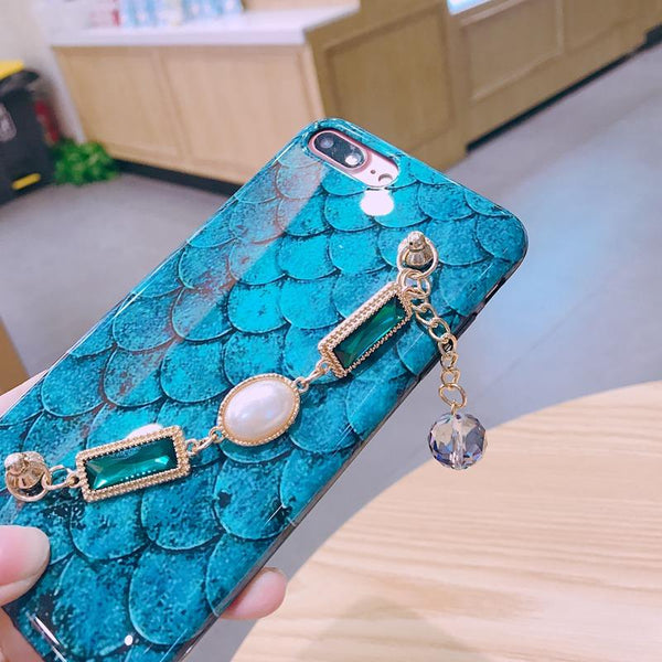 Bling Diamond Bracelet Case For iPhone X 8 7 - Bevsu