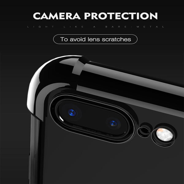 360 Anti-Knock Full Coverage Protector Back Cover Case for iPhone 8 8 plus 7 7 plus 6/6s 6/6S Plus - bevsu