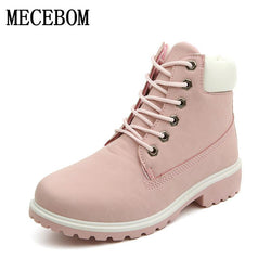 Boots - Fashion Plush Snow Boots Women Slip resistant Boots - Bevsu