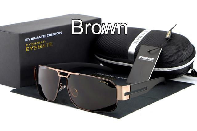 Fashion Polarized Driving Men's Sunglasses + Original Box ( Buy One Get One 20% OFF )
