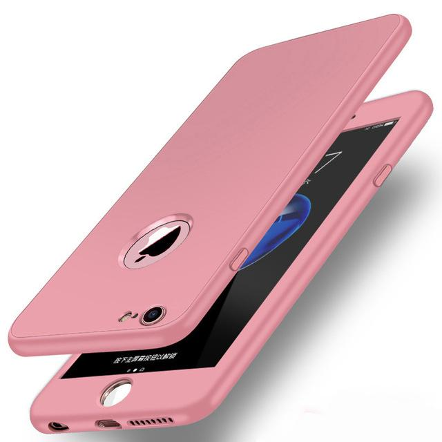 360° Full Body Soft Silicone Protective Cover for iPhone 8 7 7 plus 6 6 plus - Buy 2, second one 30% off - bevsu
