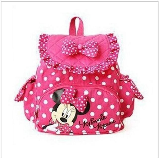 Bags - Children Minnie Mouse Cartoon Backpacks-old - Bevsu