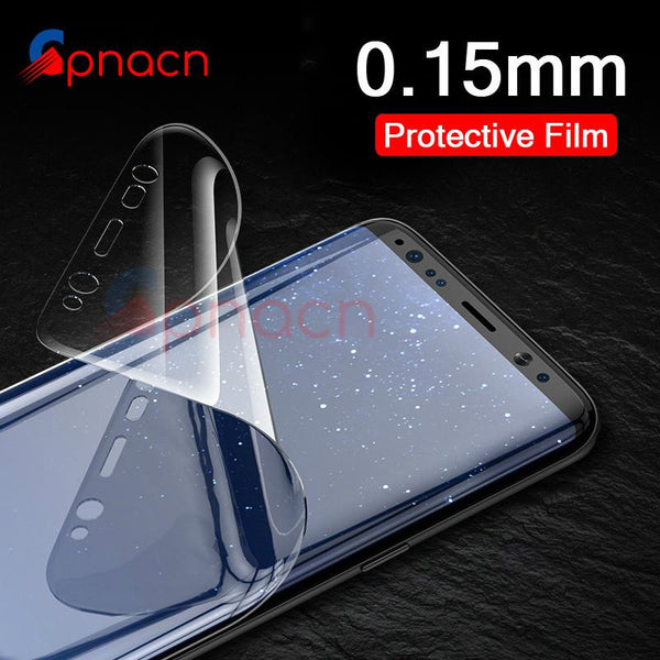 3D Curved Soft Protective Film Screen Protector For Samsung (Not Glass) - bevsu