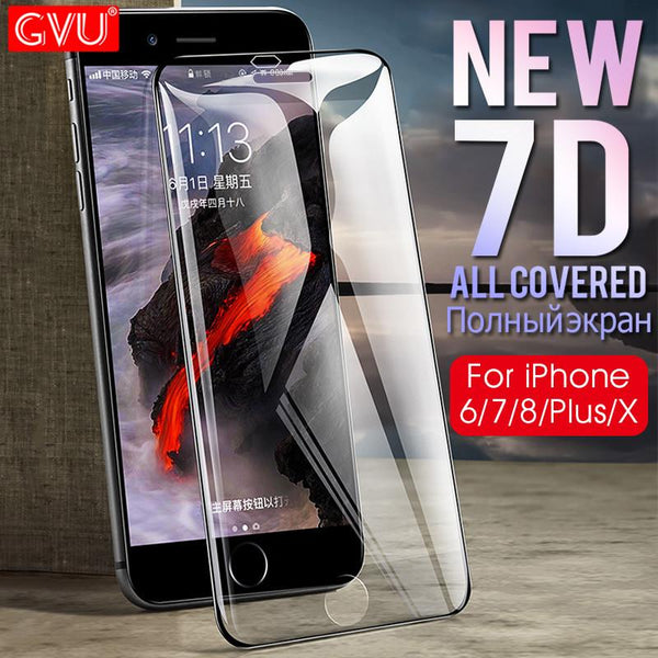 Aluminum Alloy Screen Protector For iphone 6 6S 7 8 Plus X - bevsu