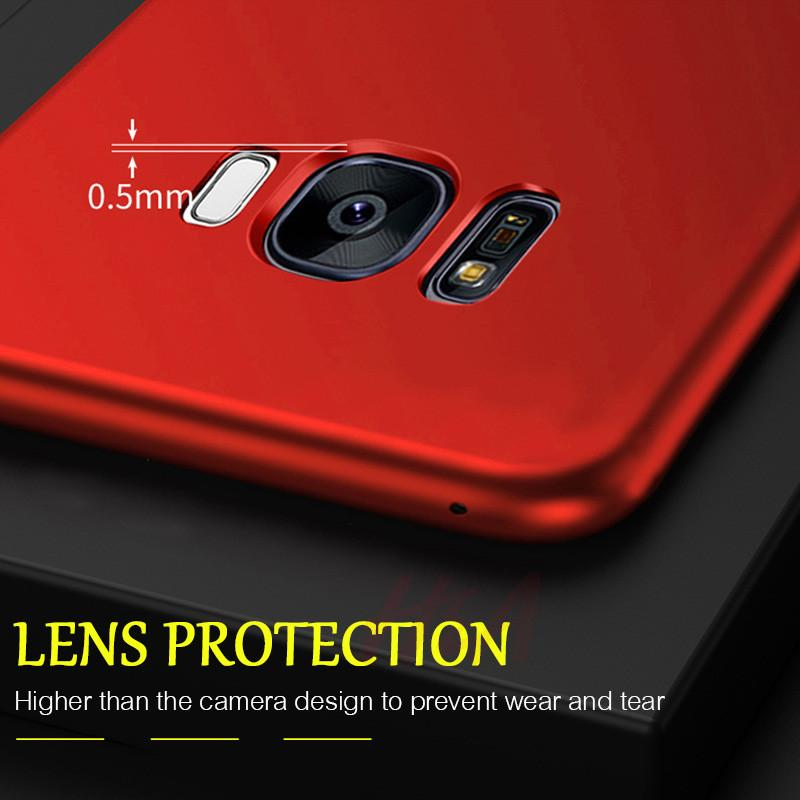 60 Degree Protective Phone Case For Samsung S9 S8 Plus S7 Edge - bevsu