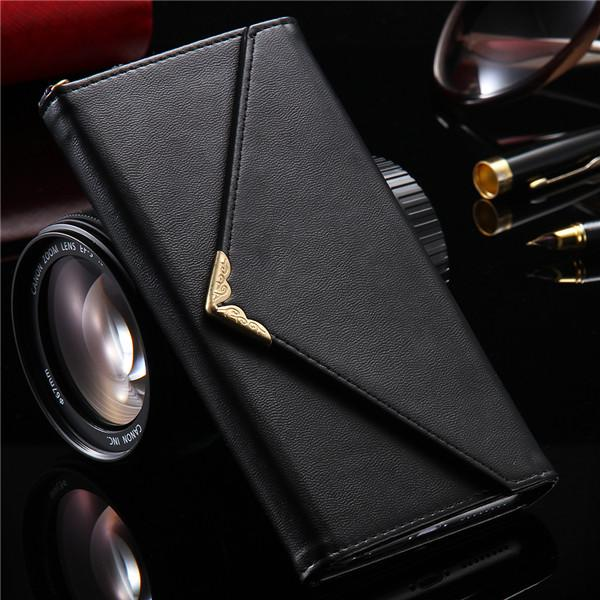 Bag Leather Wallet Case For Samsung Galaxy S6 S7 Edge S8 S8 Plus - Bevsu