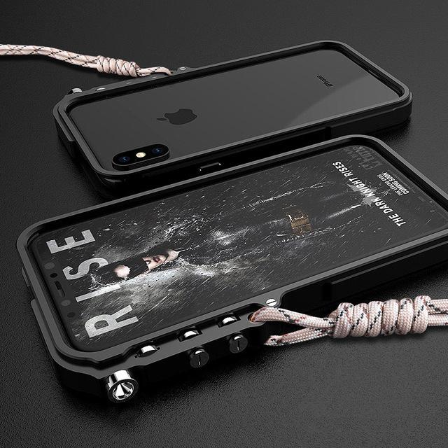 Cool Metal Mechanical Arm Case For iPhone