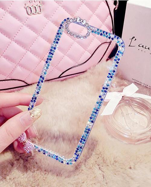 Bling Diamond Rhinestone Case For Samsung Galaxy S6 S7 Edge S8 S9 Plus Note 8 - Bevsu