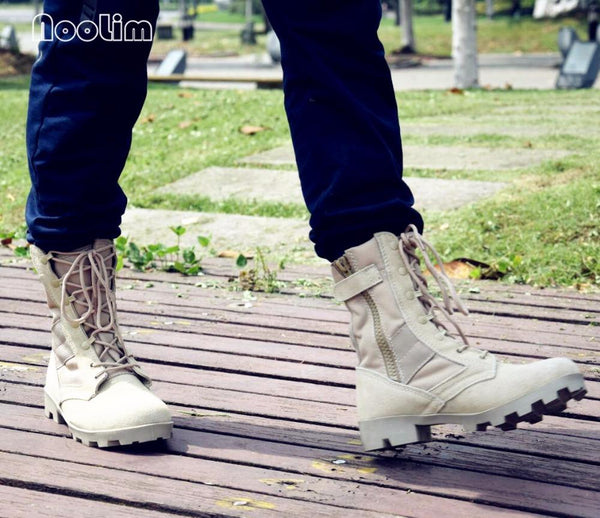 Boots - Camouflage Military Tactical Combat Army Boots - Bevsu