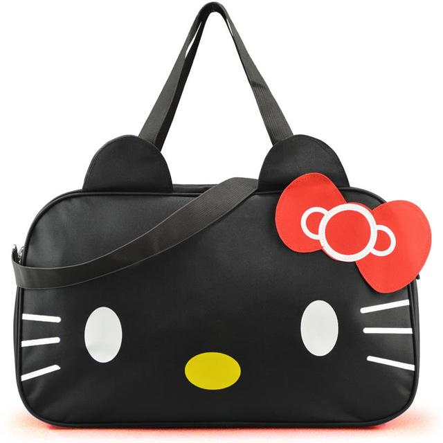 Bags - Hello Kitty Cartoon Weekend Trip Luggage Bags - Bevsu
