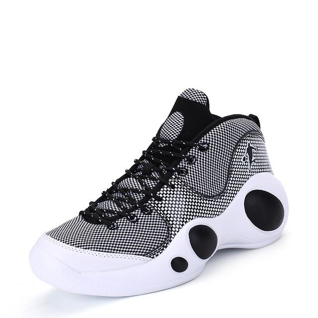 Basketball Shoes - Lace Up Men Professional Sport Footwear - Bevsu