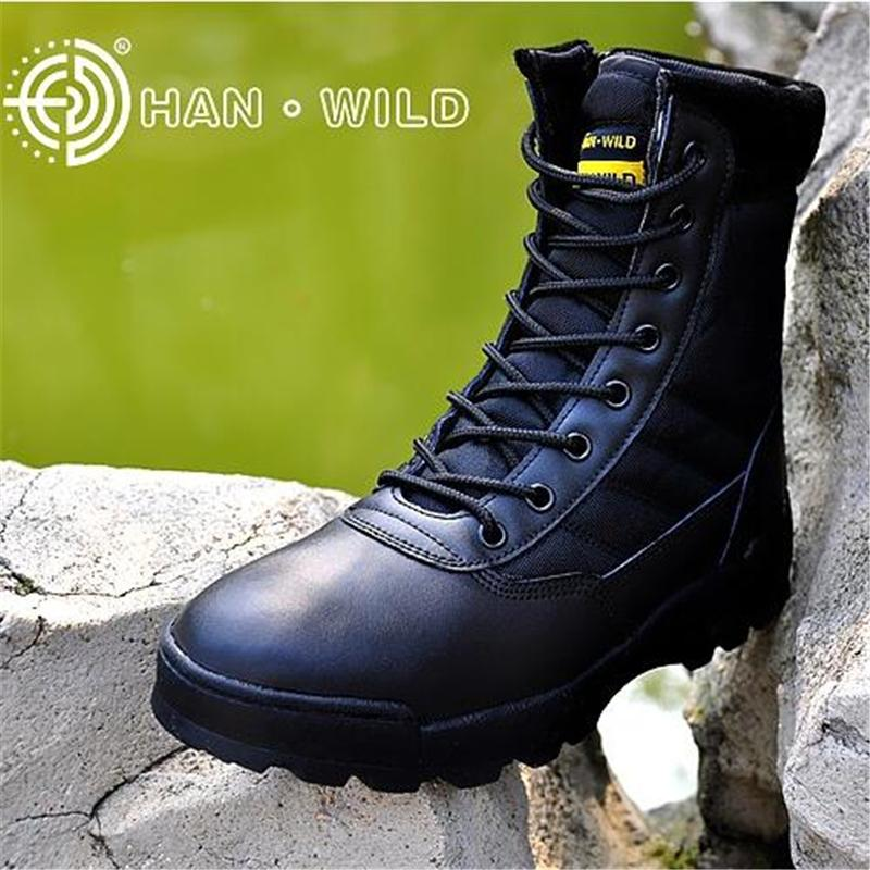 Boots - 2017 New Military Tactical Combat Waterproof Boots - Bevsu