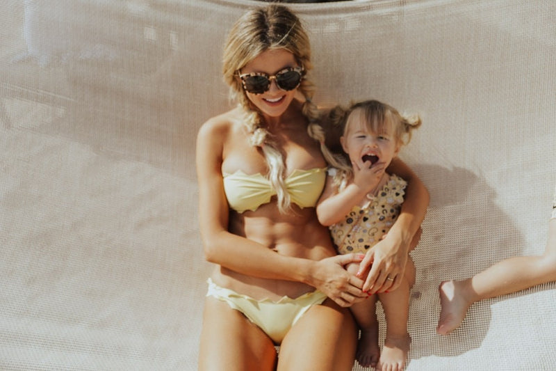 Parent-child beach sexy bikini
