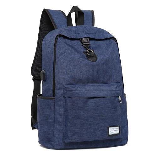 Backpack - USB Charging Backpacks - Bevsu