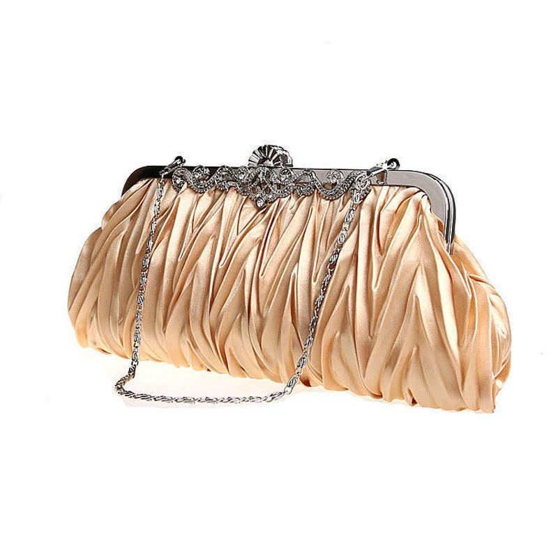 Bags - Women's Satin Evening Bags - Bevsu