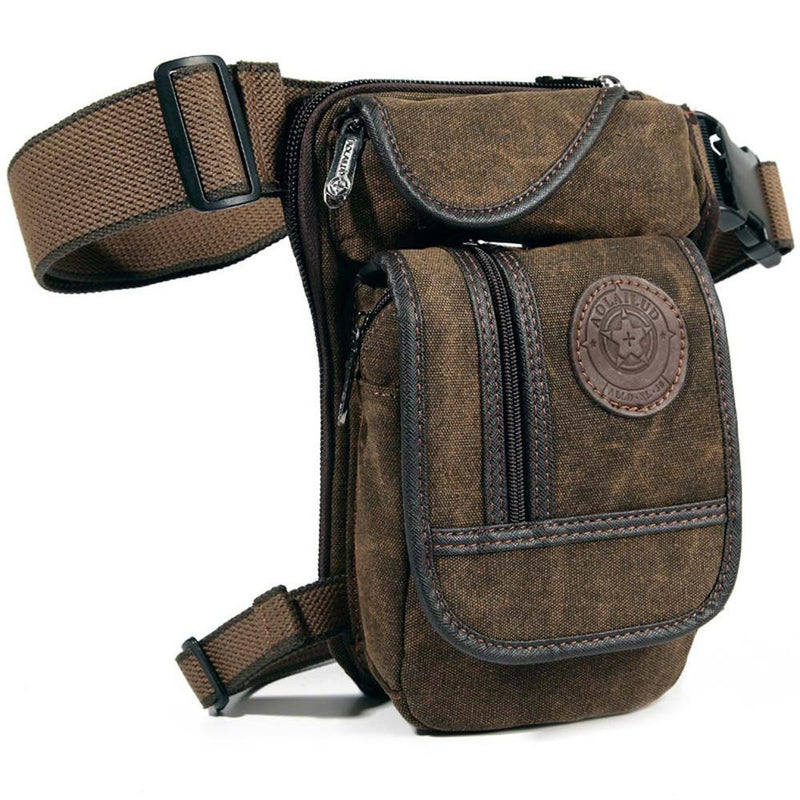 Bags - Multifunctional Canvas Waist Bag - Bevsu
