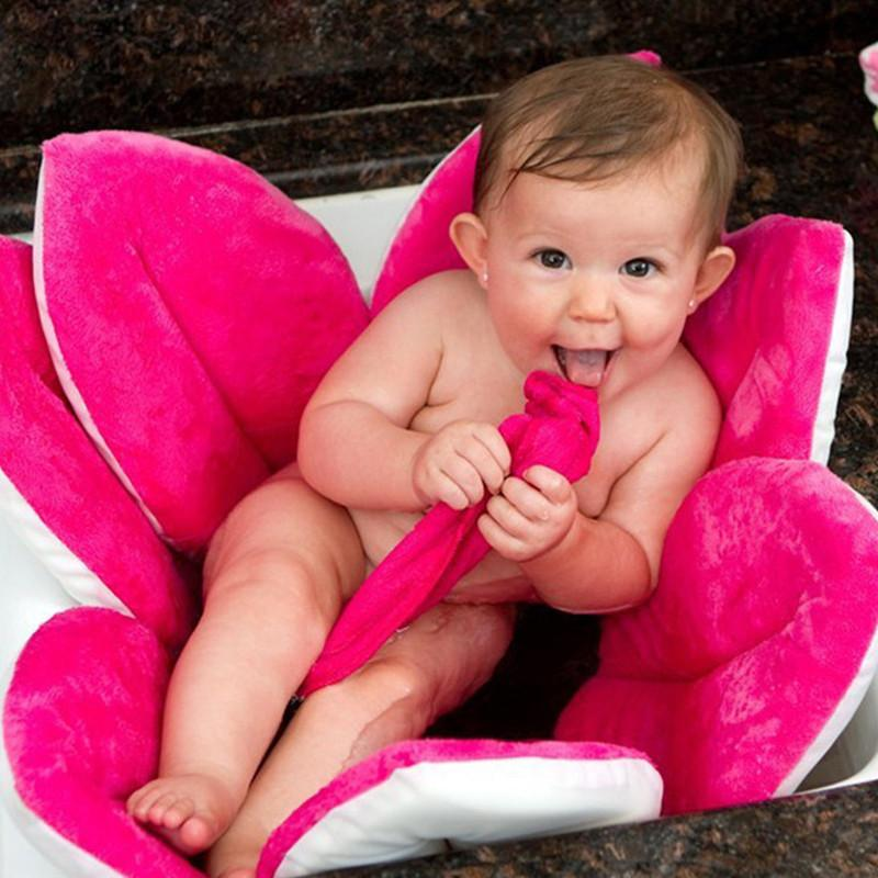 Baby Tubs - Baby Bathtub Foldable Blooming Flower Shape - Bevsu