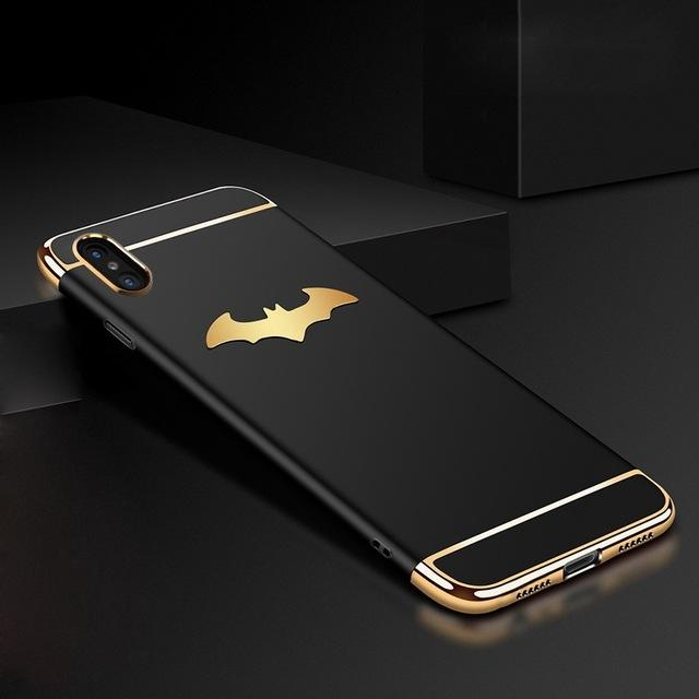 Batman Electroplated Case For iPhone X - Bevsu